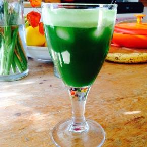 Incredible Hulk juice…