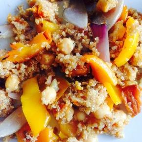 Warm Quinoa Salad…