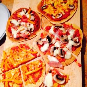 Gluten free soccapizza…