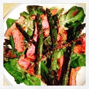 The best steaksalad…