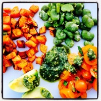 Very clean & Green Dinner...