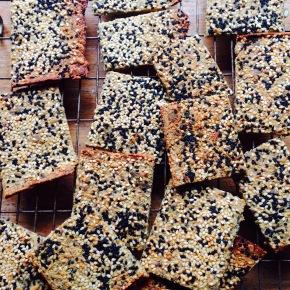 Gluten free seedcrackers